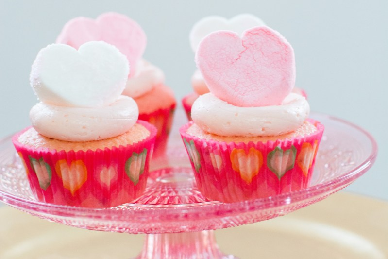 Easy Galentine's Cupcakes