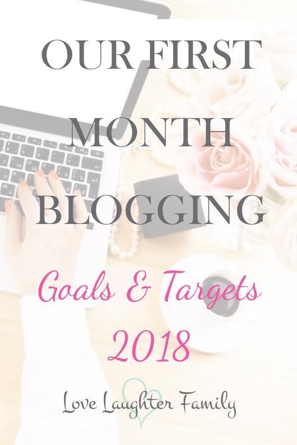 my first month blogging