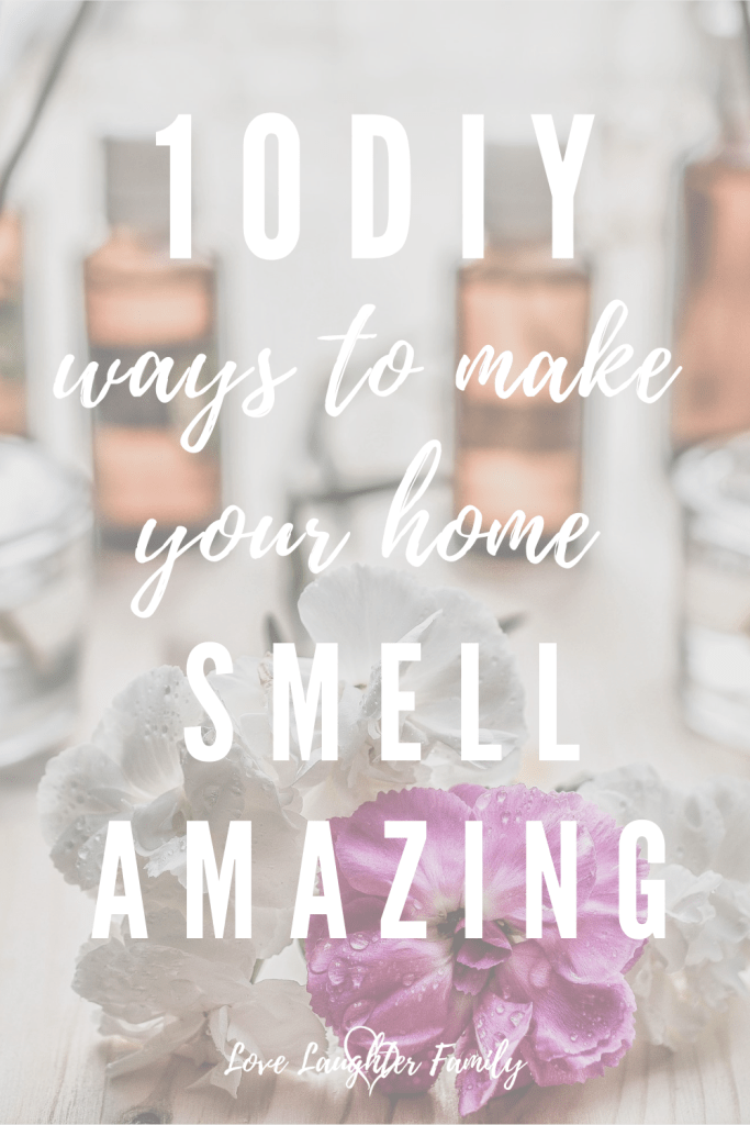Get creative and make your home smell great all day long with these DIY ways to make your home smell delicious.