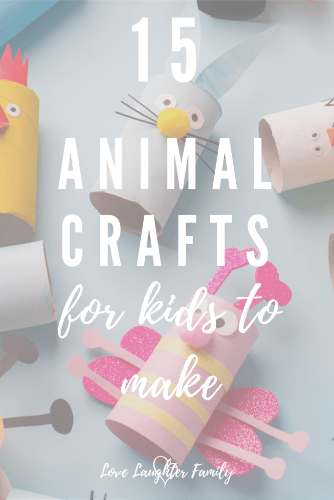 15 animal crafts to try with the kids.