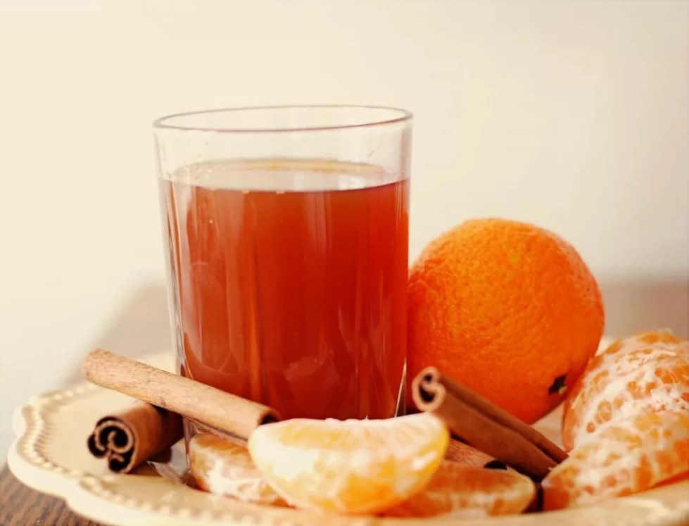 Image result for orange and spice tea