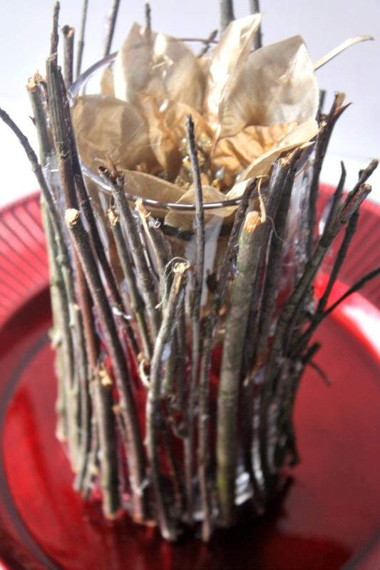 Easy DIY Nature Inspired Vase