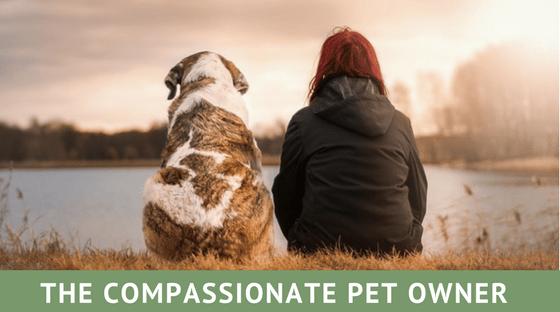 compassionate pet owner