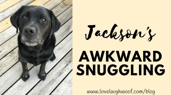 Jackson's Awkward Snuggling