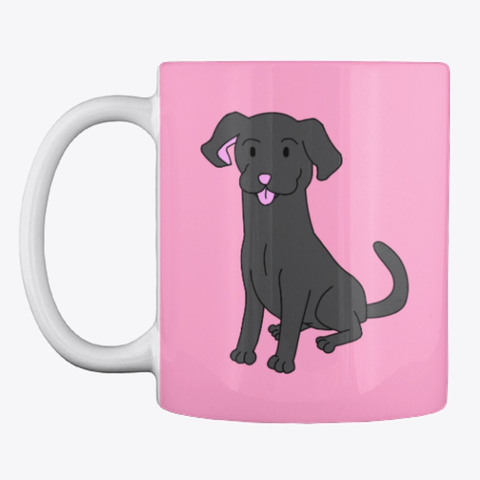 Whimsical Labrador Love Laugh Woof
