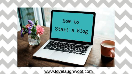 How to Start a Blog Class