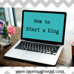 How to Start a Blog Class