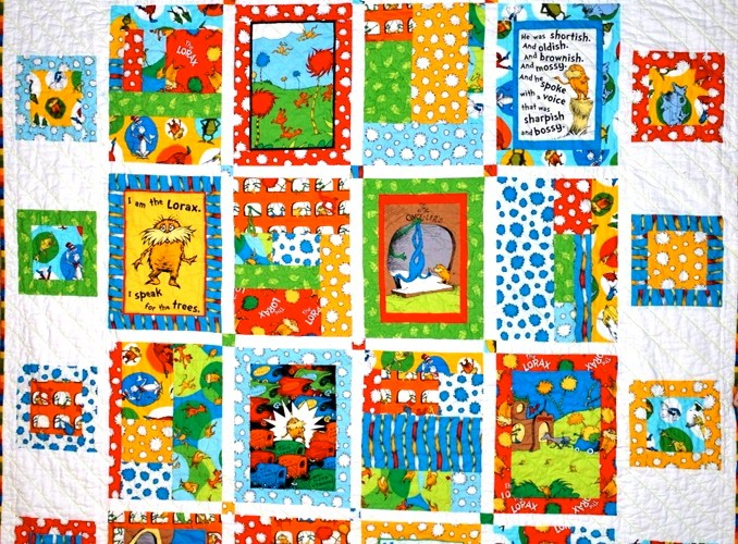Lorax Quilt