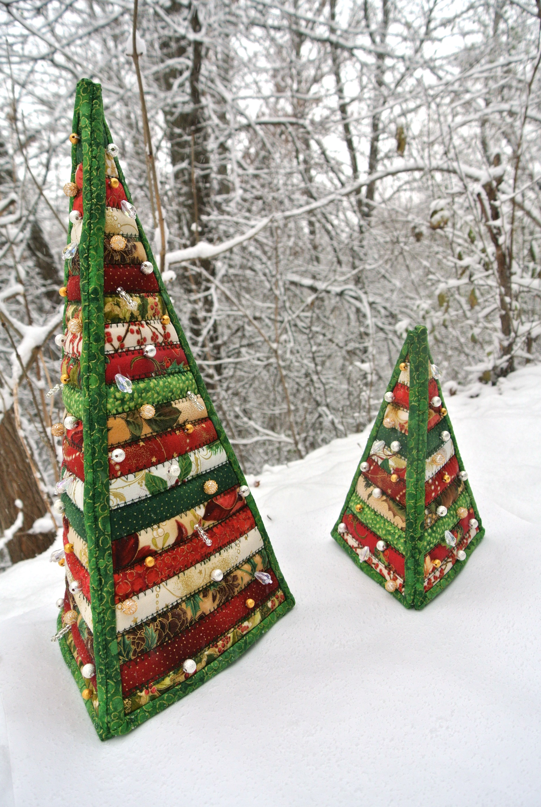 Quilted Christmas Trees : quilt christmas tree - Adamdwight.com