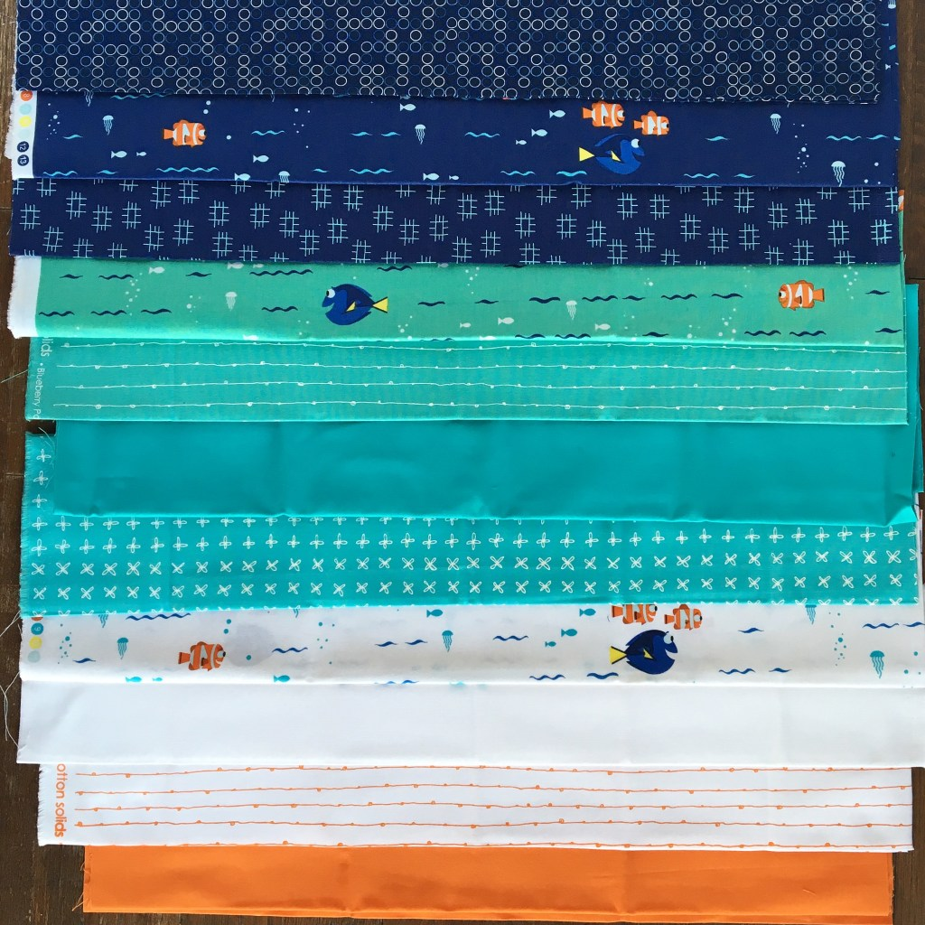 Finding Dory Baby Quilt
