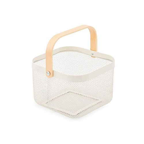 White food storage baskets.