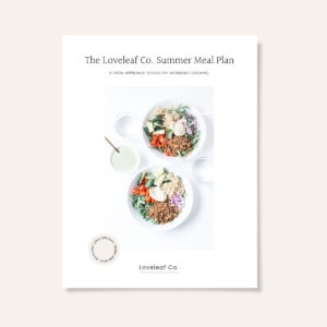 The Loveleaf Co. Summer Meal Plan