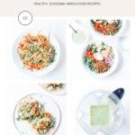 Loveleaf Co. Summer Meal Plan infographic.