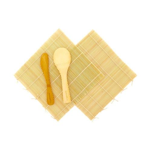 Bambo sushi mats.