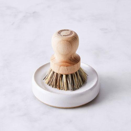Scrub brush.