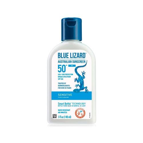 Blue Lizard sunscreen.