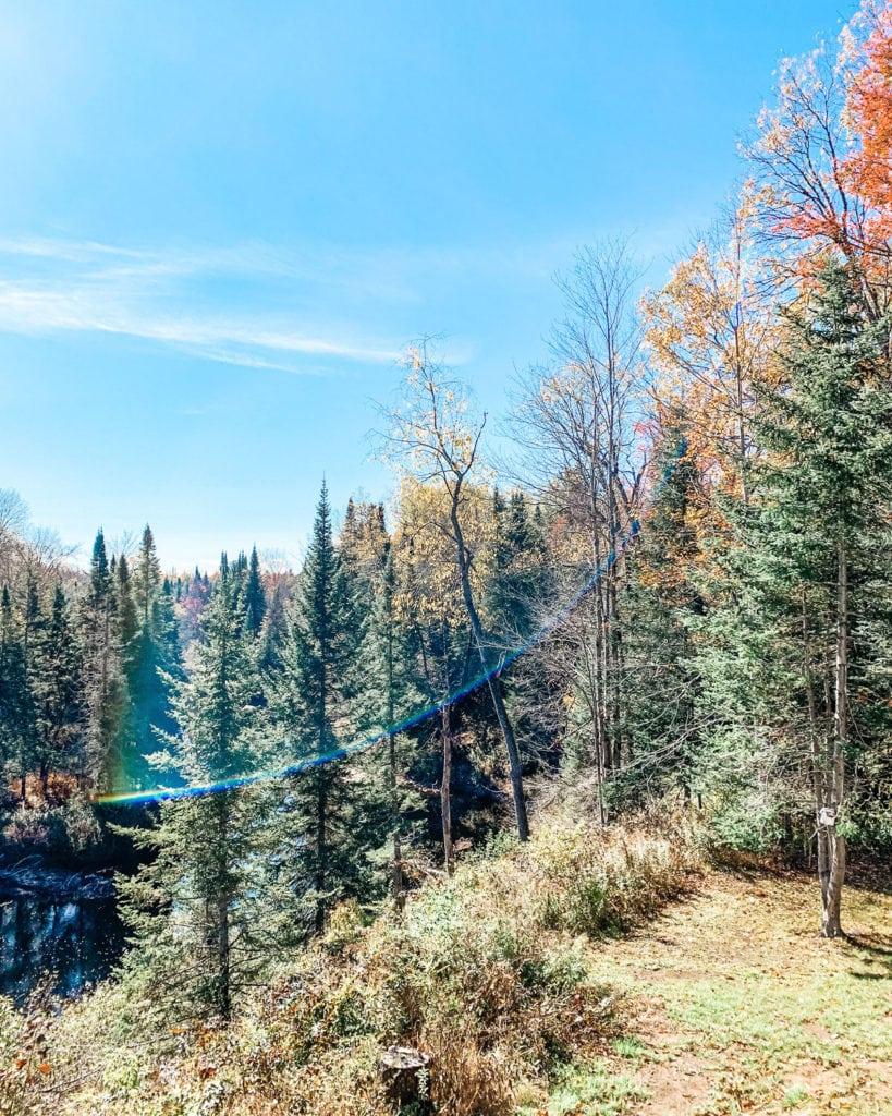 Fall scene in the Adirondacks.