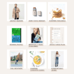 Images of October health and wellness favorites by Loveleaf Co.