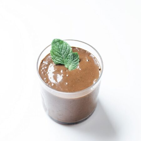 Simple Mint Chocolate Smoothie