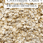Close-up of uncooked oats.