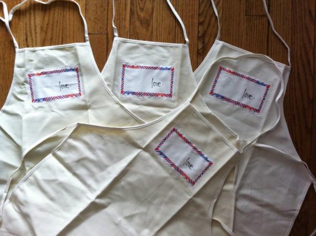 love lettering project, love, lindsay zier-vogel, toronto, aprons