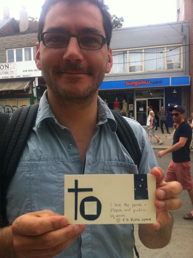toronto, love lettering project, ps kensington, love, summer, public space, parks