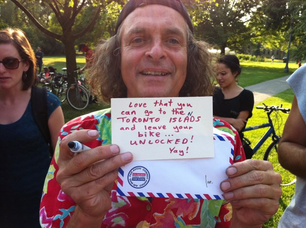 artspin, toronto, biking, cycling, love, love lettering project, june 28