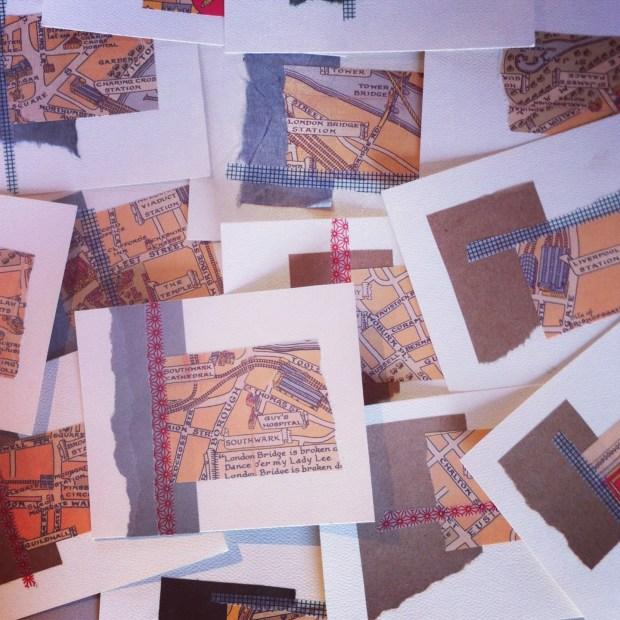 75 (!) postcards all set to fly back home