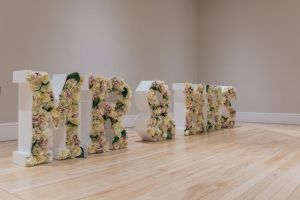 Love Letters for hire weddings parties proms events 4ft flowers lights mr and mrs cariad