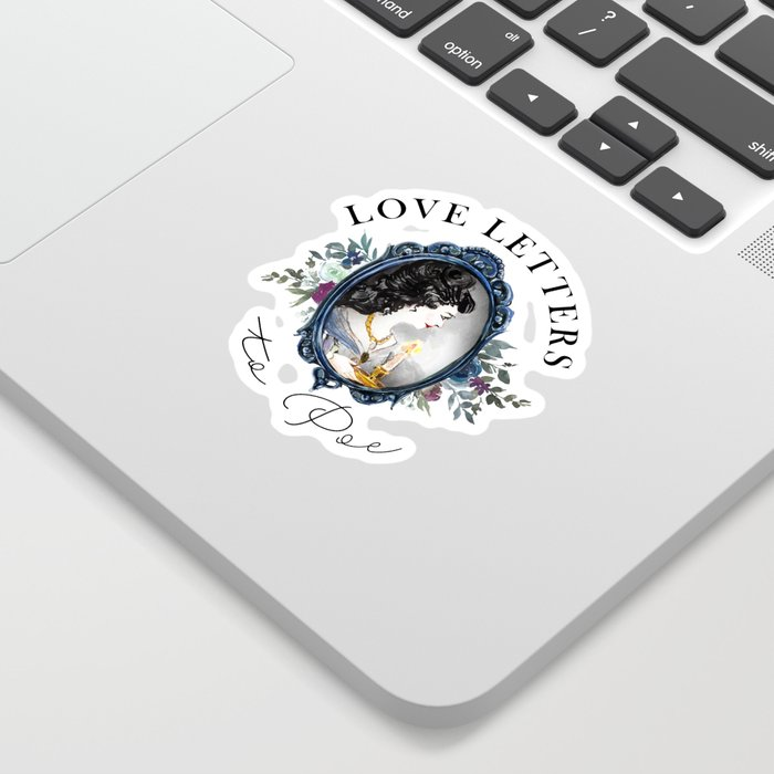 Love Letters to Poe sticker