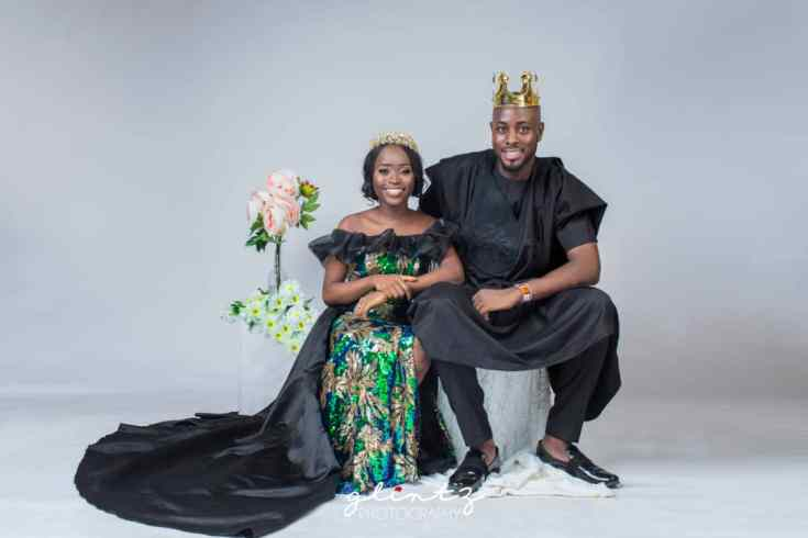 Tolulope and Babatunde's Classy Pre-Wedding Shoot! + Love Story
