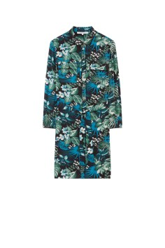 Robe-chemise imprimé tropical DINA 2500 DH, Gerard Darel
