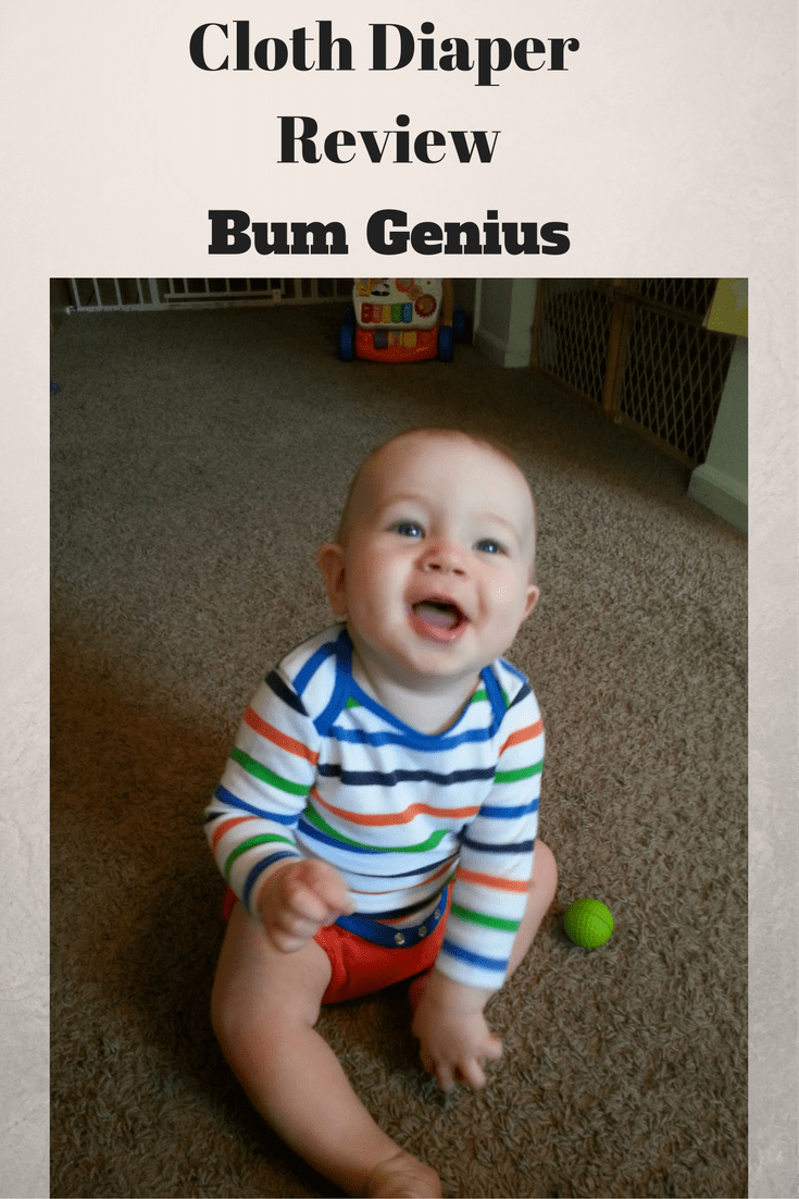 Bum Genius Cloth Diaper Review