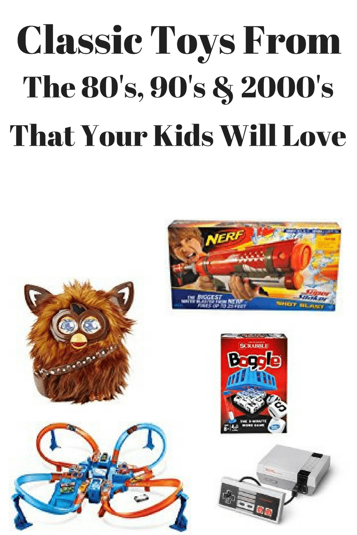 Classic Toys Your Kids Will Love from the 80's, 90's, & 2000's