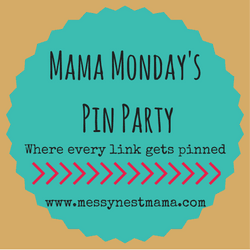 Messy Nest Mama Pin Party