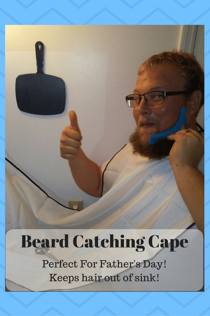 Beard Catcher Cape-Perfect For Father's day!