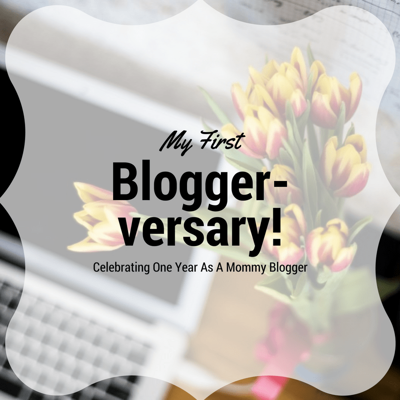 My first Blogger-versary!