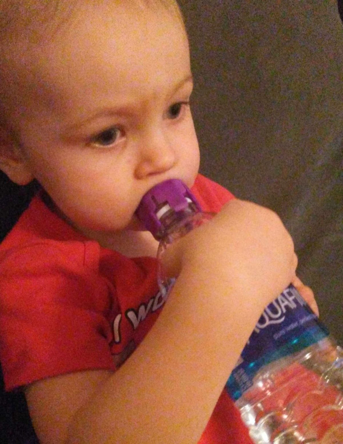 Sippy Nipple Leakproof Water Bottle Baby Nipple Review & Giveaway