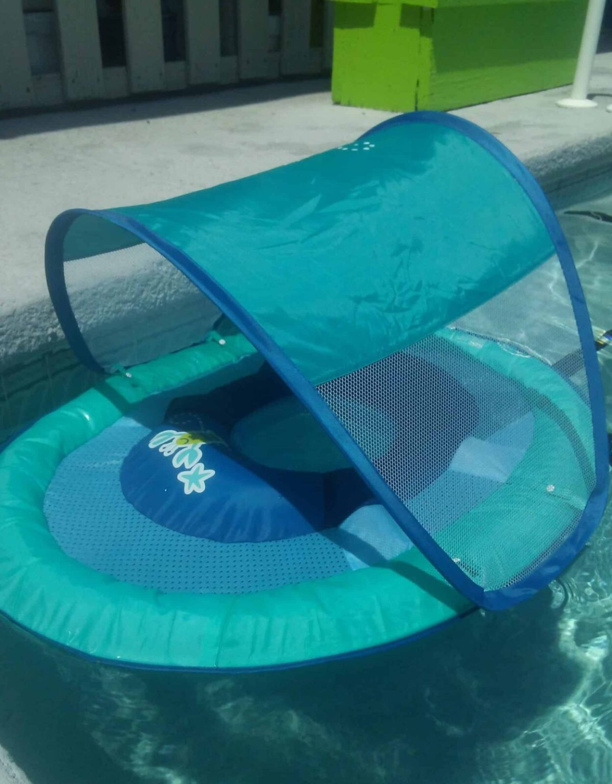 Summer Fun With SwimWays Baby Spring Float
