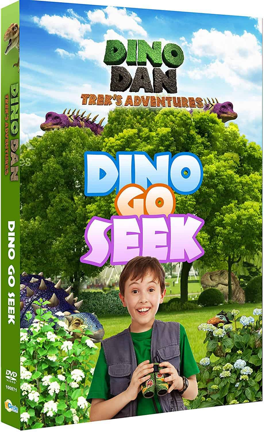 Dino Dan: Trek's Adventures-Dino Go Seek DVD Review & Giveaway