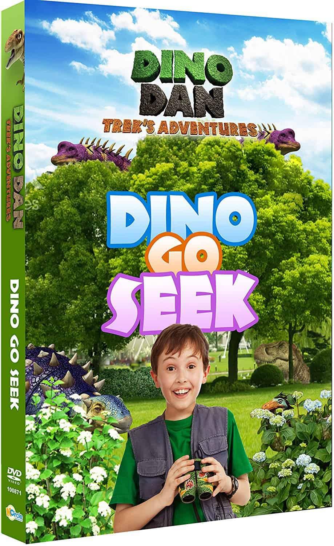 Dino Dan: Trek's Adventures-Dino Go Seek DVD Review & Giveaway
