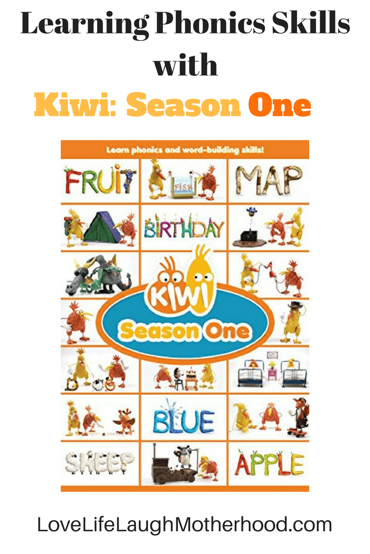 Learning phonics and word building skills with Kiwi: Season One on DVD
