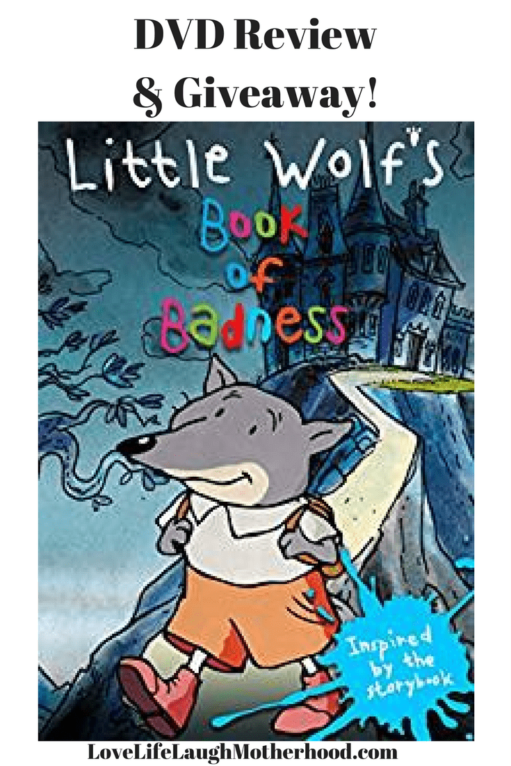 Little Wolf's Book of Badness DVD review
