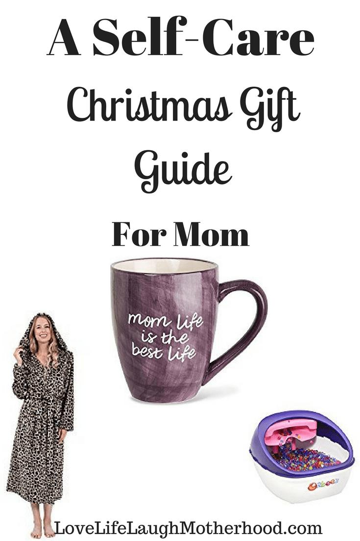 A Self-Care Christmas Gift Guide For Mom #ad #selfcare #aromatherapy #pampered #coffeemug