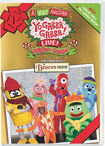 A Very Awesome Yo Gabba Gabba! Live! Holiday Show DVD Giveaway