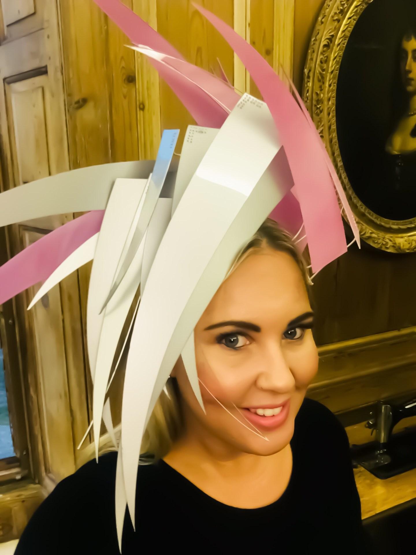 Victoria Charles Headpieces