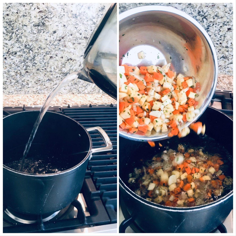 Lavish Vegetable Soup