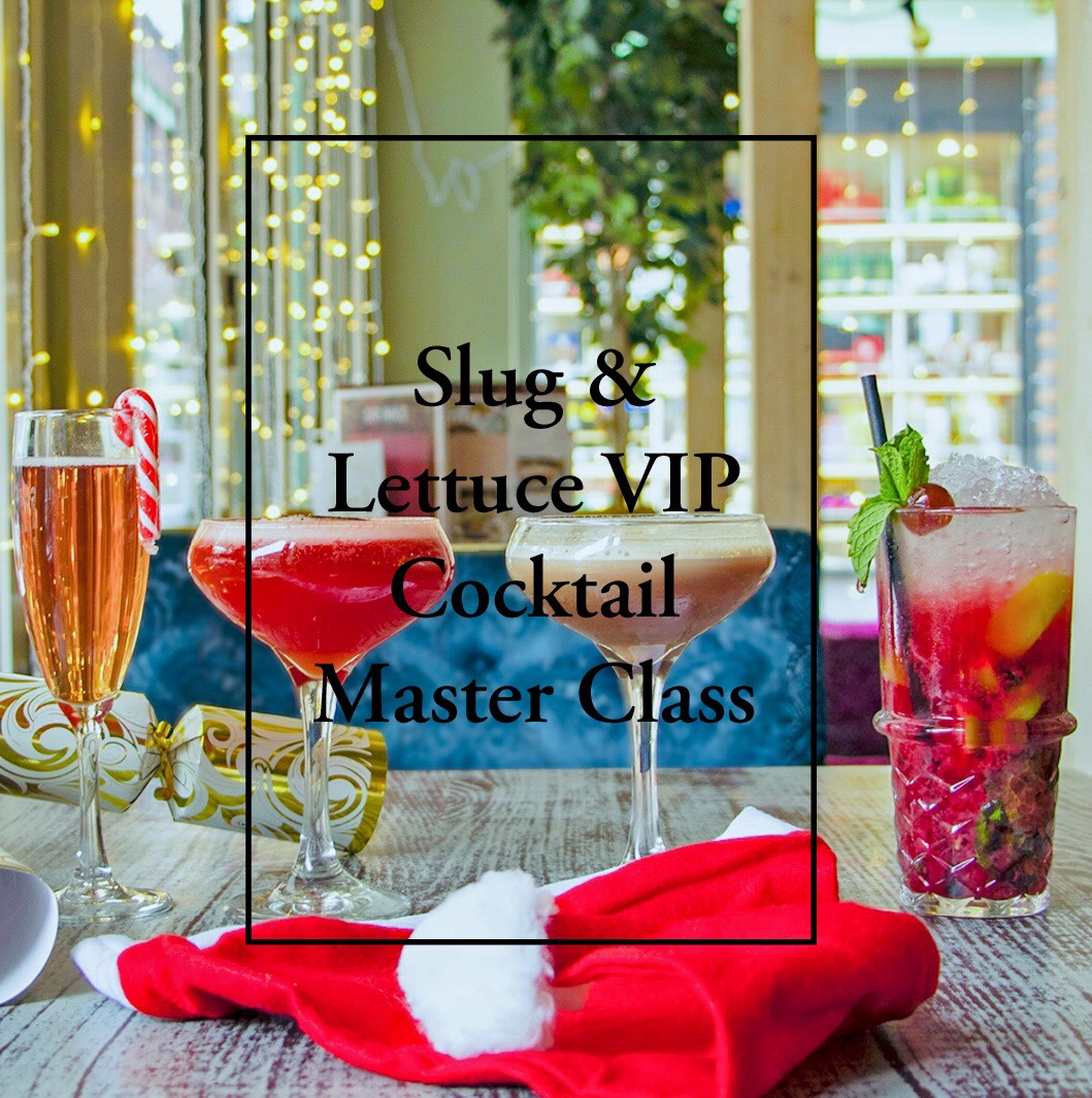 Cocktail Master Class - Slug And Lettuce.