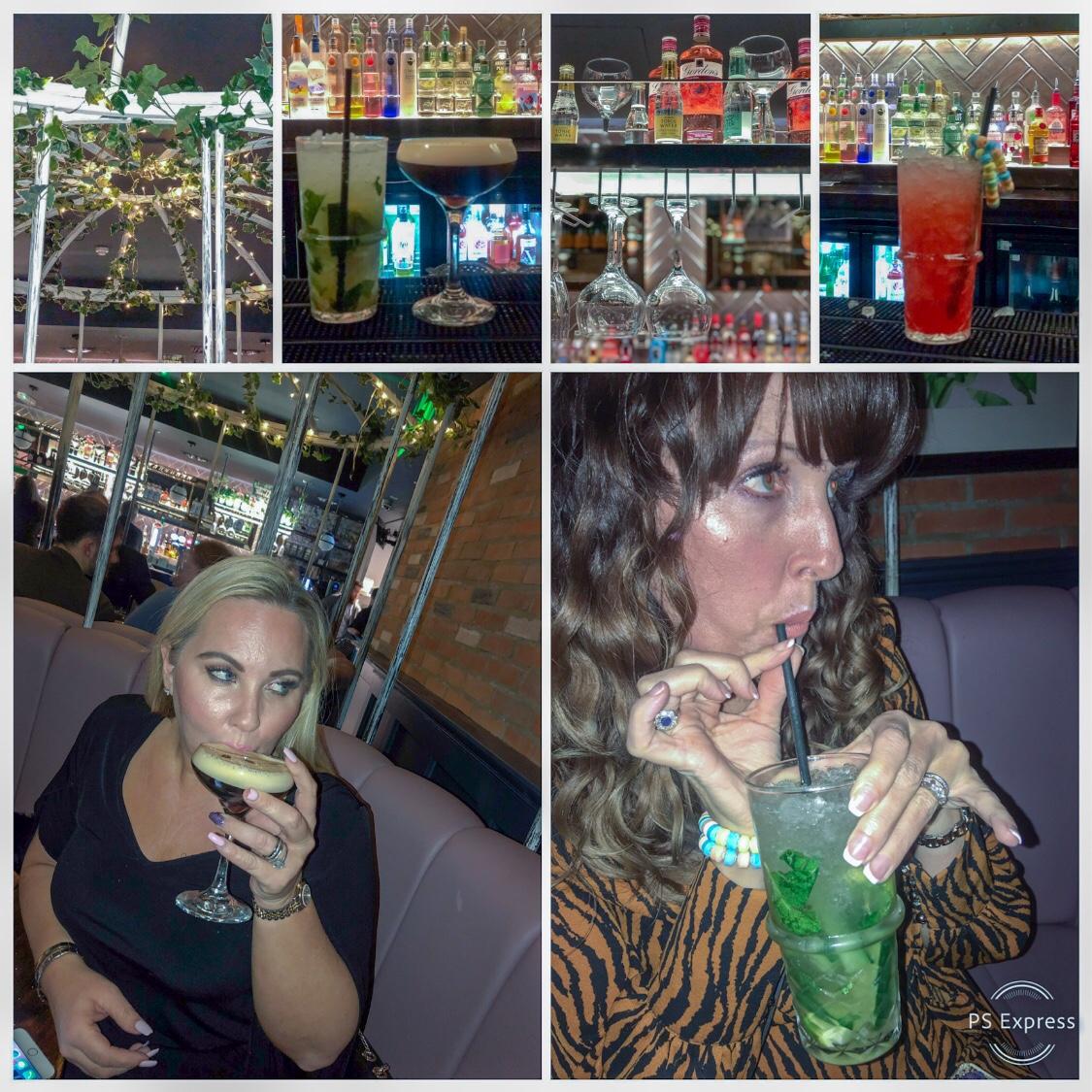 Cocktails at the Slug & Lettuce Colchester Essex