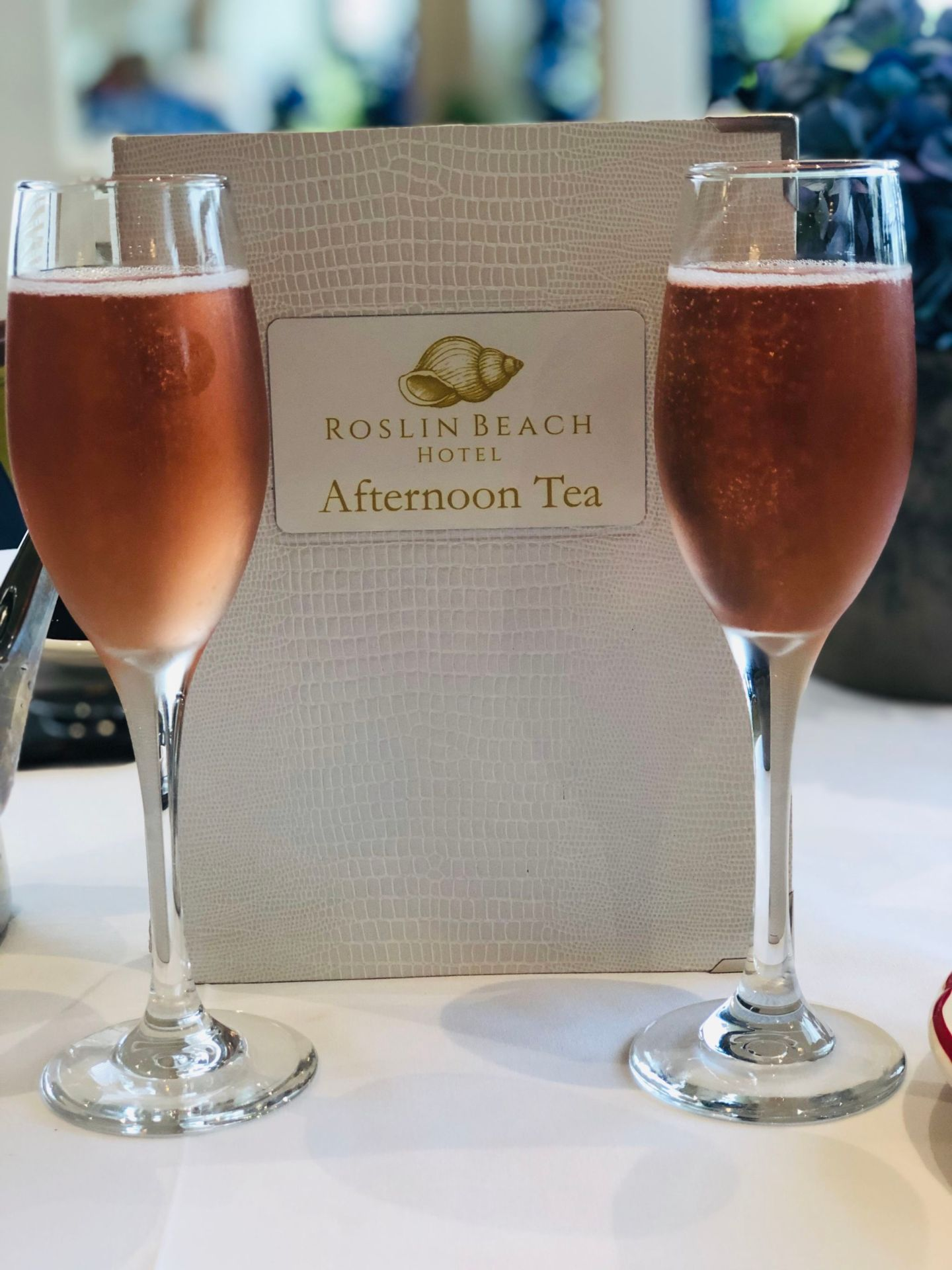 Afternoon tea Rose Champagne